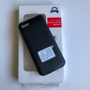 Other - iPhone 5/5S/SE Battery Case (Black)